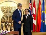 Renforcement de la coopération entre les Etats-Unis et l'ASEAN
