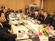 Ouverture de la conférence ministérielle des négociateurs du TPP à Singapour