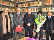 Italie: Inauguration d'une bibliothèque sur le Vietnam