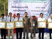Les sociétés vietnamiennes contribuent à l'essor socioéconomique du Cambodge