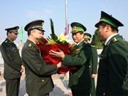 Une délégation militaire chinoise en visite à Quang Ninh