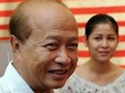 Cambodge : le prince Ranariddh se lance de nouveau dans la politique