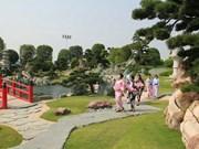 Inauguration d'un parc japonais à Ho Chi Minh-Ville
