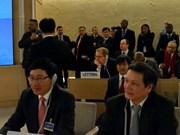 Le Vietnam à la 25e session du Conseil des droits de l'homme