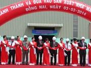Inauguration d'une usine de verre à Dong Nai
