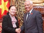 Vietnam et Cambodge renforcent leurs relations parlementaires