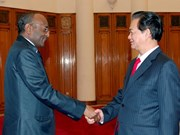 Nguyen Tan Dung reçoit l'ambassadeur du Soudan