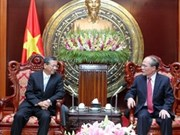 Le président de l'AN reçoit l'ambassadeur azerbaïdjanais