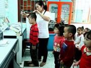 Le Japon aide à l'amélioration de la nutrition chez l'enfant