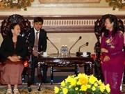HCM-Ville veut collaborer avec les localités cambodgiennes
