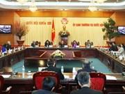 Prochaine session du Comité permanent de l'AN
