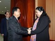 Vietnam-Laos : les AN renforcent leur coopération