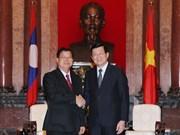 Le Vietnam et le Laos partagent des expériences en législation