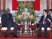 Les dirigeants vietnamiens reçoivent le Secrétaire général de la Francophonie