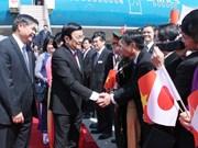 Entrevue entre le président du Vietnam et le gouverneur d'Ibaraki