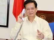 Avion disparu: Entretien téléphonique Vietnam-Malaisie