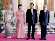 Le président Truong Tan Sang termine sa visite d'Etat au Japon