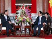 Le président Truong Tan Sang reçoit le prince norvégien