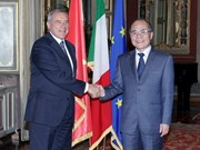 Vietnam et Italie promeuvent la coopération parlementaire