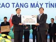 """Ouverture de la première fête """"PCs for Life"""" à Thai Nguyen"""