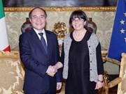 Le VN et l'Italie plaident pour des liens accrus