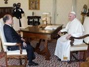 Le Vietnam fait grand cas du développement des relations avec le Vatican