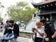 Forte augmentation du nombre de touristes à Hanoi
