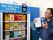 De premiers distributeurs automatiques de livres au Vietnam