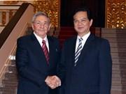 Resserrement des relations traditionnelles particulières Vietnam-Cuba
