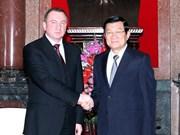 Visite de travail du ministre biélorusse des AE au Vietnam