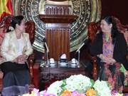 Une délégation du Sénat cambodgien en visite au Vietnam