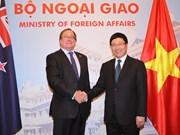 Vietnam - Nouvelle-Zélande : un milliard d'USD de commerce bilatéral engagé