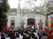 Tout est prêt pour la Fête du Temple des rois Hùng