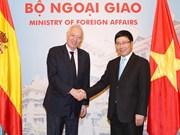 Vietnam et Espagne renforcent les liens bilatéraux