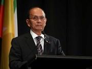 Le président birman s'engage à mener la transition démocratique