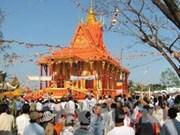 Can Tho : inauguration du grand hall de la pagode Neryvone