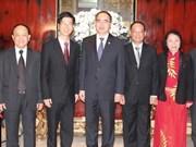Le président du FPV entame une visite à Singapour
