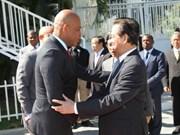 Le Premier ministre rencontre des dirigeants haïtiens