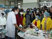 Rougeole : la ministre de la Santé inspecte des hôpitaux