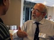 Echange entre l'astrophysicien suisse Michel Mayor et des passionnés