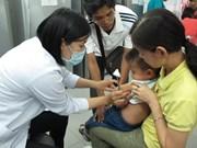 """Cérémonie pour la """"Semaine de la vaccination"""" à Thai Binh"""