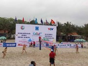 Beach-volley féminin: la Thaïlande remporte le tournoi international de Tuan Chau-Ha Long