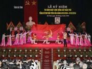 Hà Tinh célèbre le 110e anniversaire de Trân Phu
