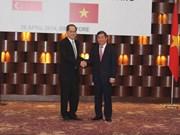 Vietnam, Singapour réunis sur la connexion économique