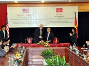 Nucléaire civil : signature officielle de l'accord Vietnam-USA