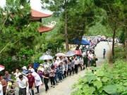 Des dizaines de milliers de personnes visitent le tombeau du général Vo Nguyên Giap