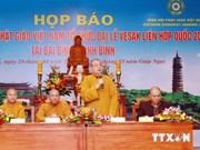 Ninh Binh : achèvement des préparatifs pour le Vesak 2014