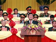 Dien Bien Phu : discours du président Truong Tan Sang