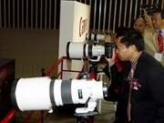 Ouverture d'expositions sur les technologies à HCM-V