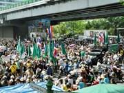 Thaïlande : manifestation des Chemises rouges